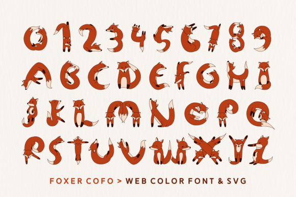 Print on Demand: Foxer Display Font By Creative Fabrica Fonts - Image 6