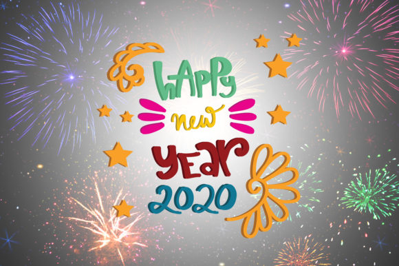 Download Free Happy New Year Quotes Graphic By Wienscollection Creative Fabrica for Cricut Explore, Silhouette and other cutting machines.