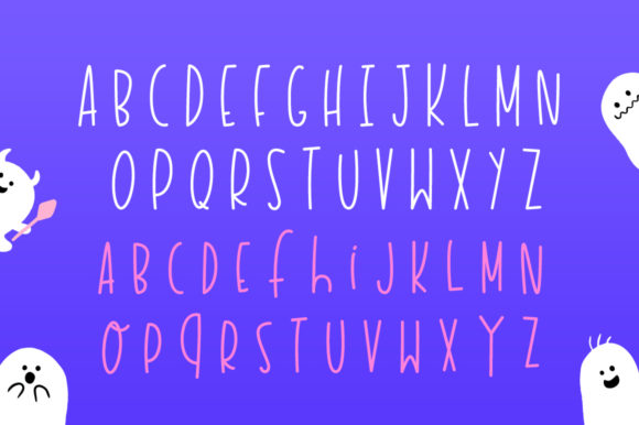 Print on Demand: Haunted House Display Font By Salt & Pepper Designs - Image 5