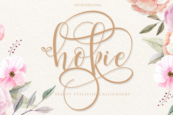 Print on Demand: Hokie Script & Handwritten Font By Gilar Studio