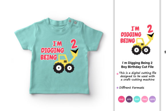 Print on Demand: I`m Digging Being 2 Graphic Crafts By iprintasty