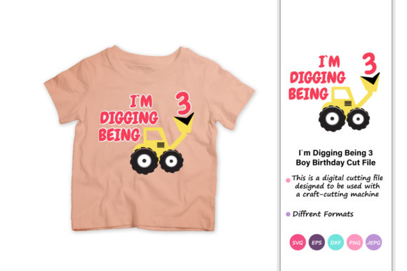 Print on Demand: I`m Digging Being 3 Graphic Crafts By iprintasty