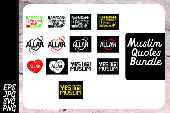 Download Free Muslim Graphic By Arsa Adjie Creative Fabrica for Cricut Explore, Silhouette and other cutting machines.