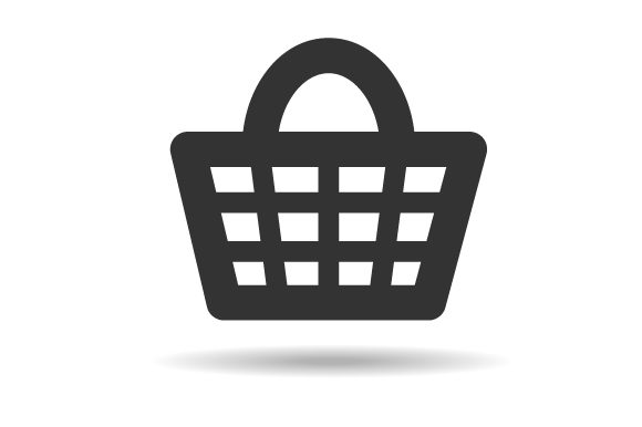 Download Free Shopping Cart Symbol Graphic By Hartgraphic Creative Fabrica for Cricut Explore, Silhouette and other cutting machines.
