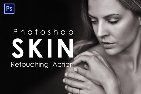 Print on Demand: Skin Retouching Photoshop Actions Graphic Actions & Presets By denestudios