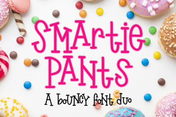 Print on Demand: Smartie Pants Display Font By freelingdesignhouse
