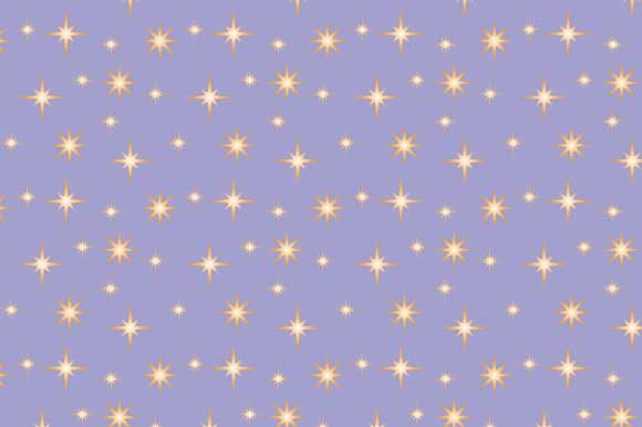 Print on Demand: Sparkling Stars Chaos Pattern Background Graphic Backgrounds By graphics.farm