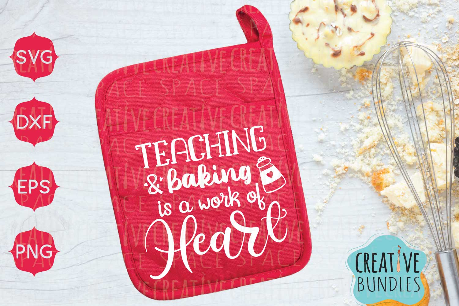 Download Free Teacher Pot Holder Graphic By Creativespace Creative Fabrica for Cricut Explore, Silhouette and other cutting machines.