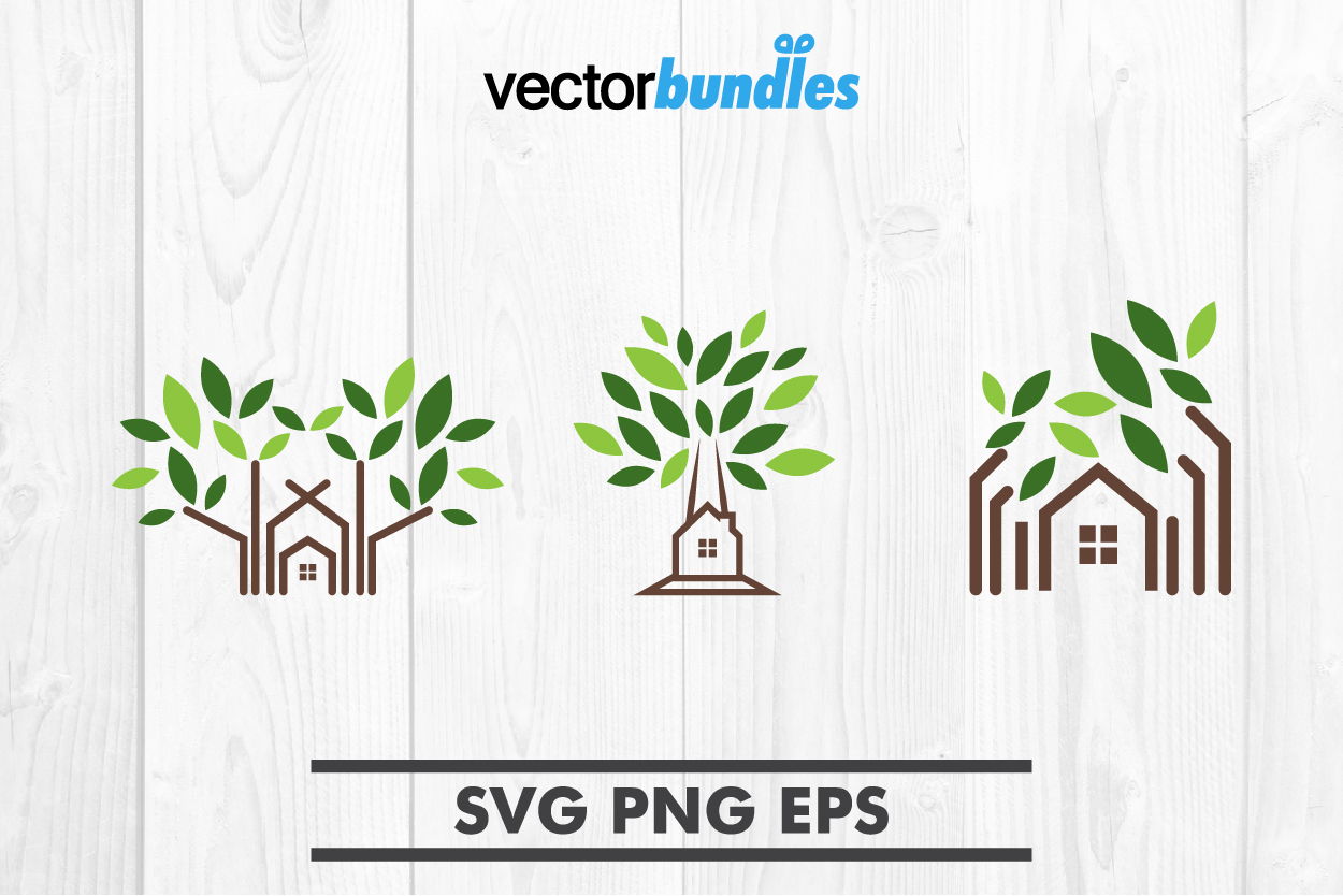 Download Free Tree House Clip Art Graphic By Vectorbundles Creative Fabrica for Cricut Explore, Silhouette and other cutting machines.