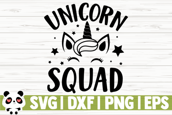 Download Free Unicorn Squad Graphic By Creativedesignsllc Creative Fabrica for Cricut Explore, Silhouette and other cutting machines.