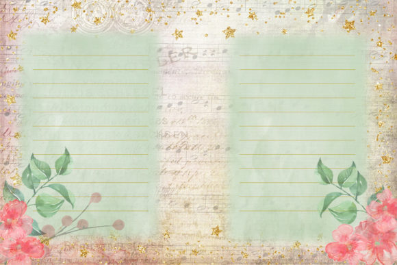 Print on Demand: Watercolour Peach Blossom Backgrounds Graphic Backgrounds By The Paper Princess - Image 7