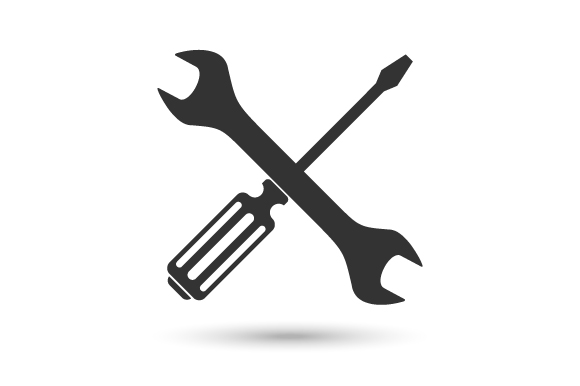 Download Free Screwdriver And Wrench Vector Graphic By Hartgraphic Creative for Cricut Explore, Silhouette and other cutting machines.