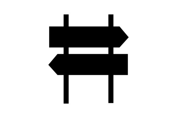 Download Free Traffic Arrow Signal Glyph Icon Vector Graphic By Riduwan Molla for Cricut Explore, Silhouette and other cutting machines.
