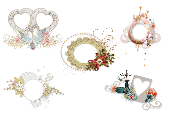 Download Free 10 Fancy Clipart Frames Borders 2 Graphic By Josephine S Digital Art Creative Fabrica for Cricut Explore, Silhouette and other cutting machines.