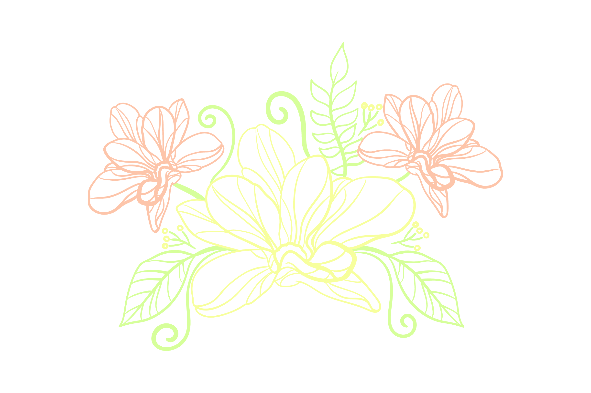 Download Free Flower Embellishment Outline Light Colors Svg Cut File By for Cricut Explore, Silhouette and other cutting machines.