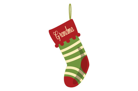 Download Free Christmas Stocking For Grandma Svg Cut File By Creative Fabrica for Cricut Explore, Silhouette and other cutting machines.