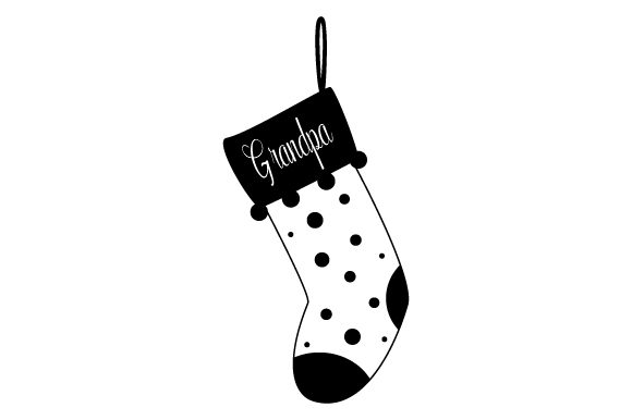 Download Free Christmas Stocking For Grandpa Svg Cut File By Creative Fabrica Crafts Creative Fabrica for Cricut Explore, Silhouette and other cutting machines.