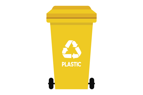 Download Free Recycling Bin Plastic Svg Cut File By Creative Fabrica Crafts for Cricut Explore, Silhouette and other cutting machines.