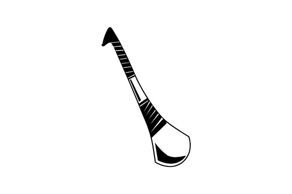 Download Free Hurling Stick Svg Cut File By Creative Fabrica Crafts Creative for Cricut Explore, Silhouette and other cutting machines.