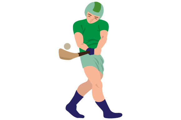 Hurling Player Sports Craft Cut File By Creative Fabrica Crafts