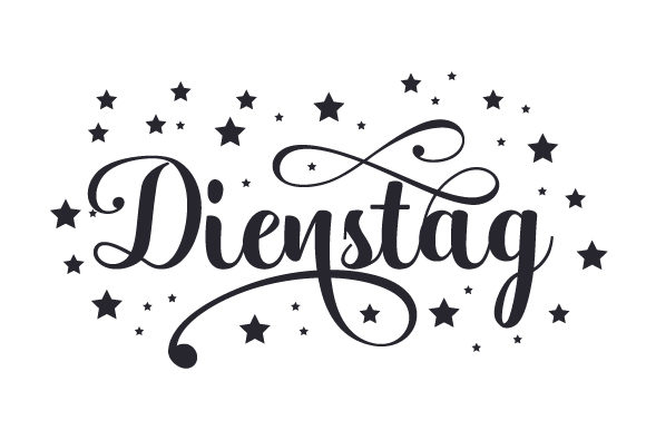 Download Free Dienstag Svg Cut File By Creative Fabrica Crafts Creative Fabrica for Cricut Explore, Silhouette and other cutting machines.