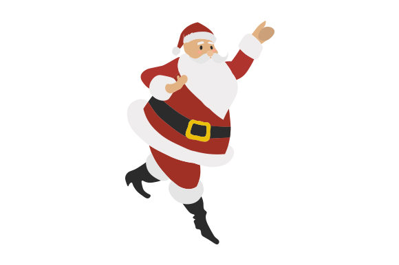 Download Free Santa Dancing Svg Cut File By Creative Fabrica Crafts Creative for Cricut Explore, Silhouette and other cutting machines.