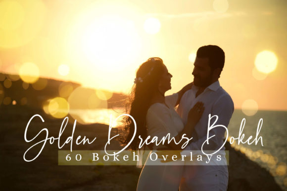 Download Free 60 Golden Dreams Bokeh Lights Graphic By 3motional Creative for Cricut Explore, Silhouette and other cutting machines.