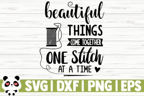 Download Free Beautiful Things Come Together One Graphic By Creativedesignsllc for Cricut Explore, Silhouette and other cutting machines.