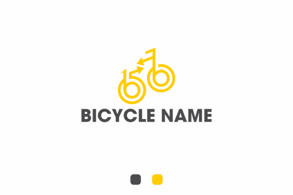 Print on Demand: Bicycle Brand Name Logo 1 Graphic Logos By fkdesignstudio