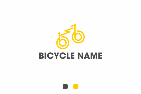 Print on Demand: Bicycle Brand Name Logo 2 Graphic Logos By fkdesignstudio