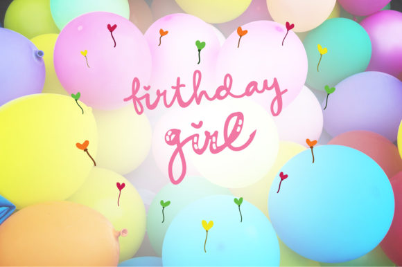 Download Free Birthday Girl Happy Birthday Quotes Graphic By Wienscollection for Cricut Explore, Silhouette and other cutting machines.