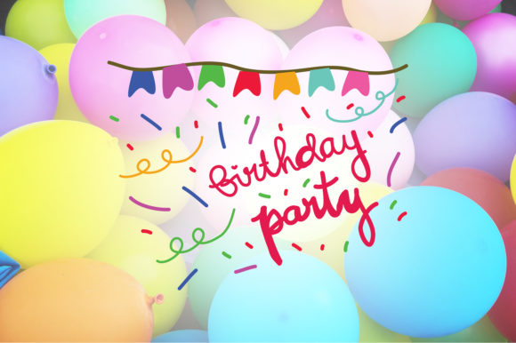 Download Free Birthday Party Happy Birthday Quotes Graphic By Wienscollection for Cricut Explore, Silhouette and other cutting machines.
