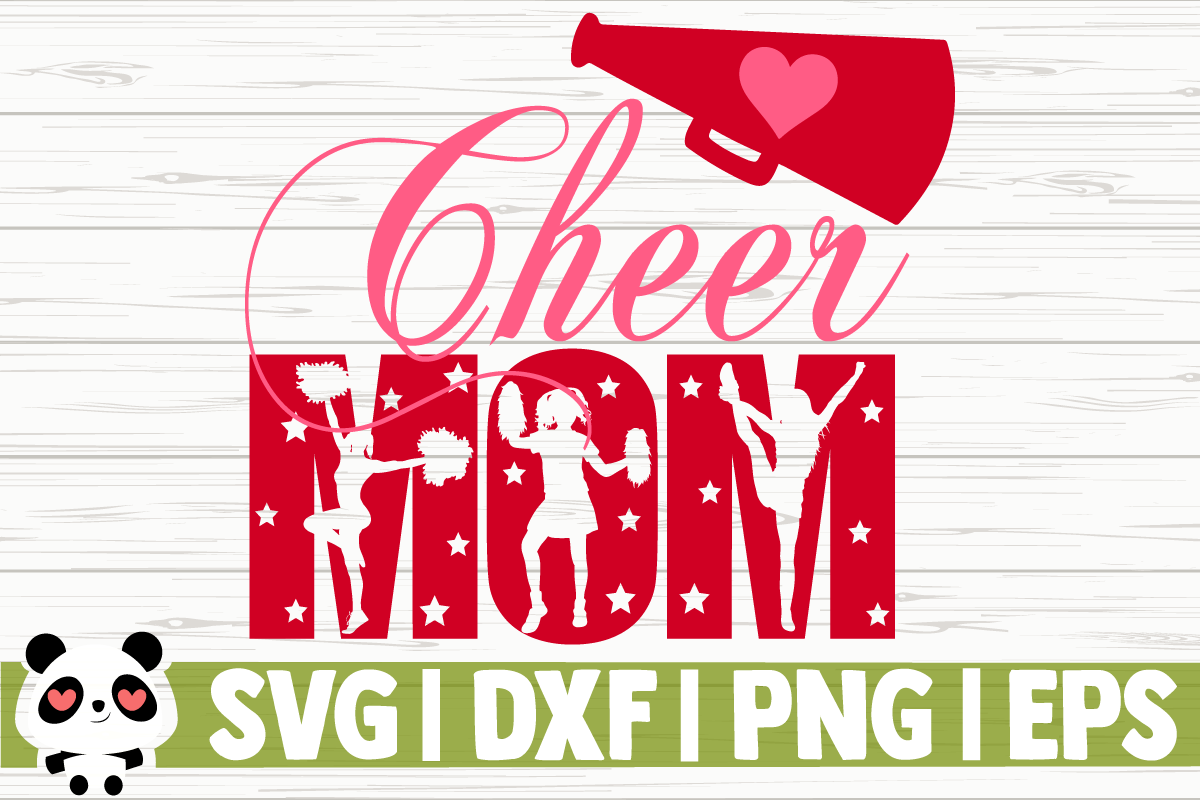 Download Free Cheer Mom Megaphone Graphic By Creativedesignsllc Creative for Cricut Explore, Silhouette and other cutting machines.