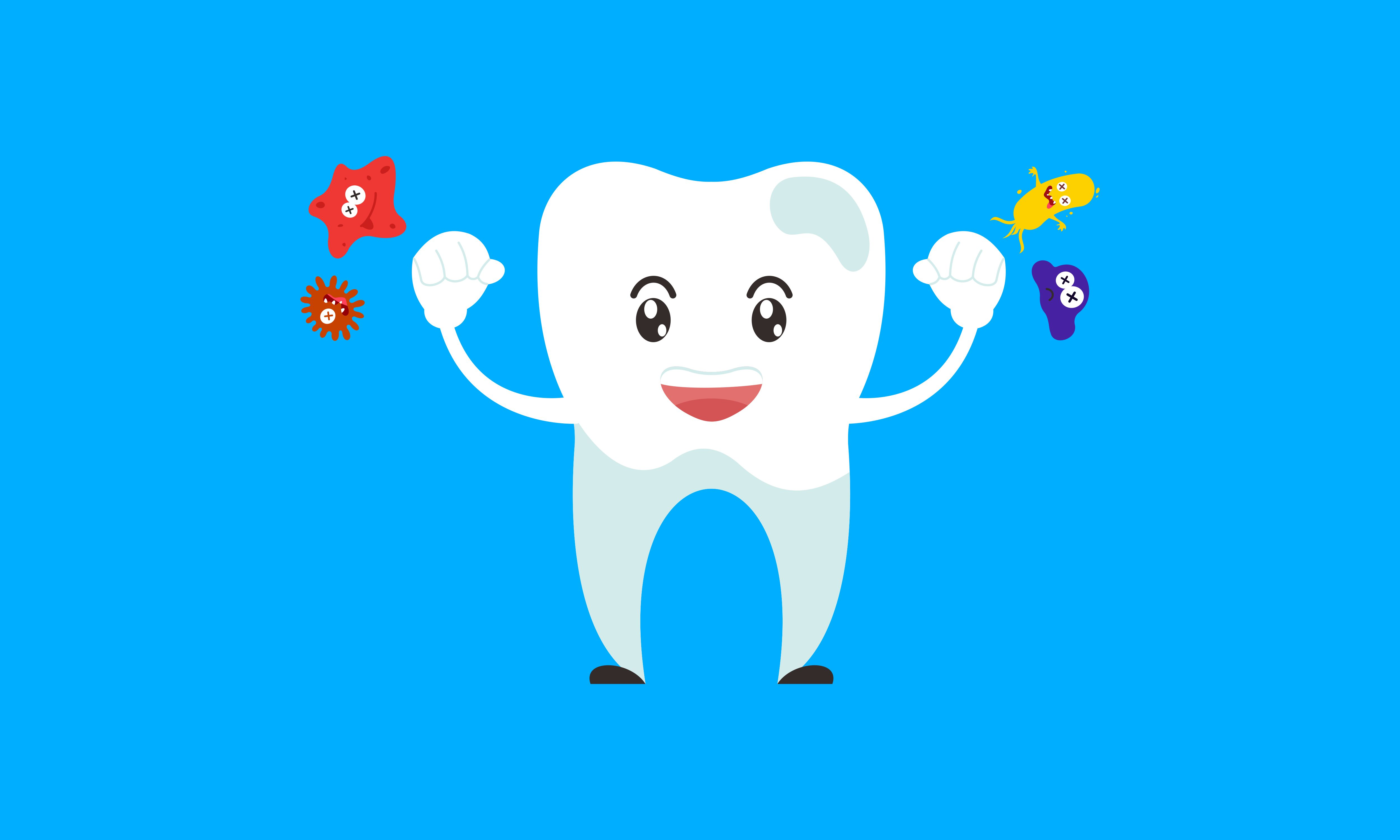 Download Free Dental Mascot Tooth Mascot Dental Logo Graphic By Deemka Studio for Cricut Explore, Silhouette and other cutting machines.