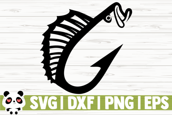Download Free Fish Hook Graphic By Creativedesignsllc Creative Fabrica for Cricut Explore, Silhouette and other cutting machines.