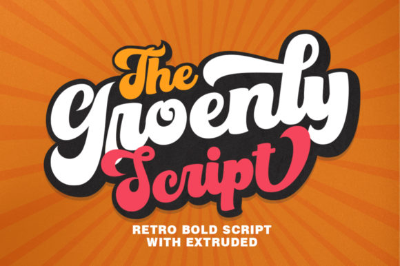 Print on Demand: Groenly Script Script & Handwritten Font By supotype