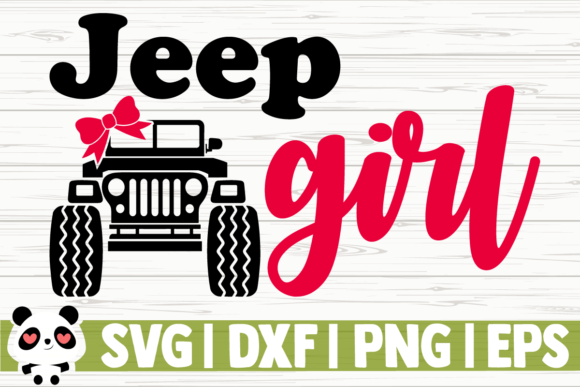 Print on Demand: Jeep Girl Graphic Illustrations By CreativeDesignsLLC