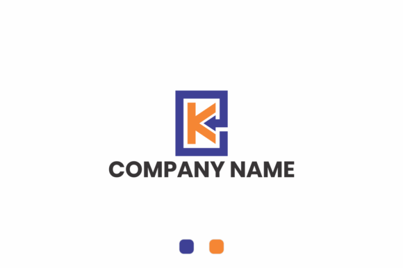 Print on Demand: Letter K Logo Graphic Logos By fkdesignstudio