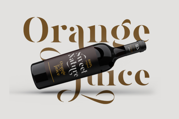 Print on Demand: Magnies Serif Font By Arterfak Project - Image 4