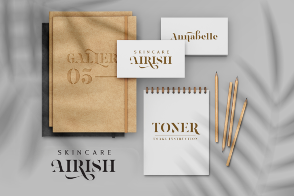Print on Demand: Magnies Serif Font By Arterfak Project - Image 6