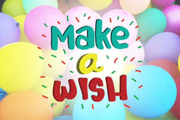 Download Free Make A Wish Birthday Quotes Graphic By Wienscollection for Cricut Explore, Silhouette and other cutting machines.