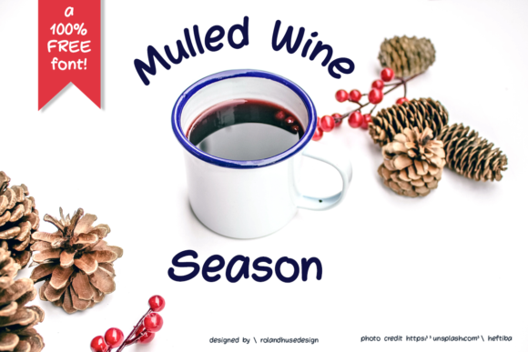 Print on Demand: Mulled Wine Season Sans Serif Font By Roland Hüse