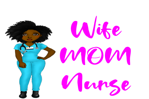 Print on Demand: Nurse Life Graphic Health By That Paradise Boutique