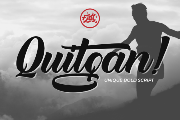Print on Demand: Quitgan Script & Handwritten Font By Fallengraphic