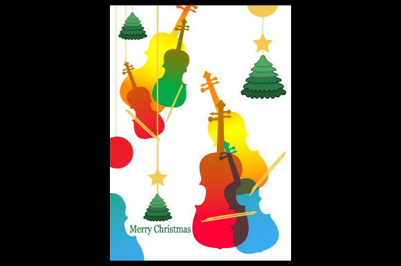 Download Free Vector Merry Christmas Full Color Graphic By Deniprianggono78 for Cricut Explore, Silhouette and other cutting machines.