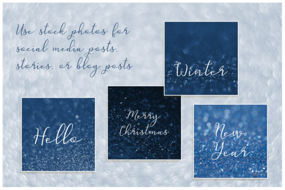 Download Free 12 Bokeh Sparkling Background Classic Blue Graphic By Natalia for Cricut Explore, Silhouette and other cutting machines.