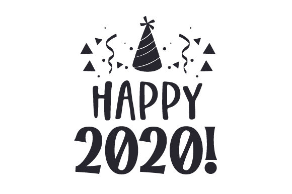 Download Free Happy 2020 Svg Cut File By Creative Fabrica Crafts Creative for Cricut Explore, Silhouette and other cutting machines.