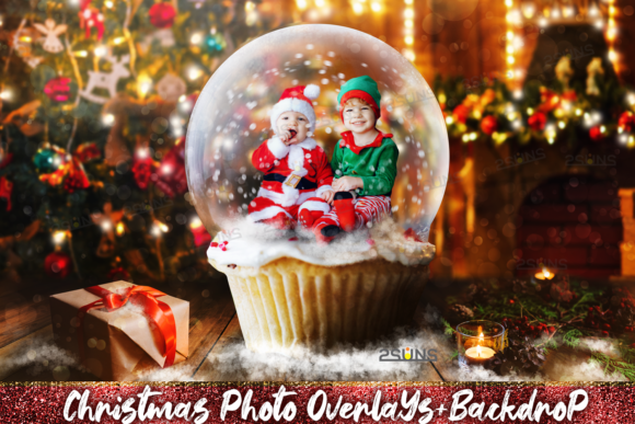 67 Photoshop Overlay Christmas Backdrop Graphic Layer Styles By 2SUNS