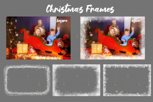 Download Free 67 Photoshop Overlay Christmas Backdrop Graphic By 2suns for Cricut Explore, Silhouette and other cutting machines.