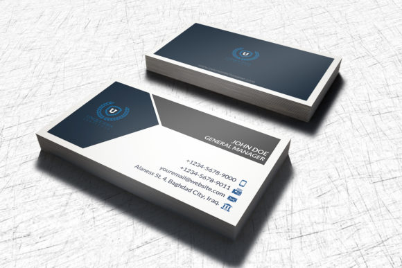 Print on Demand: Business Card Template Graphic Print Templates By OWPictures